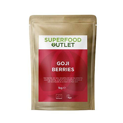 Superfood Outlet Sonnengetrocknete Goji-Beeren 1kg