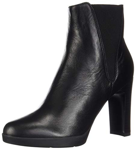 Geox Damen D ANNYA HIGH H Stiefeletten, Schwarz (Black C9999), 40 EU