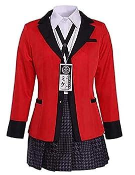 Kakegurui Cosplay Anime Kakegurui Twin Yomoduki Runa Uniform Grils Cosplay Costumes School Uniform