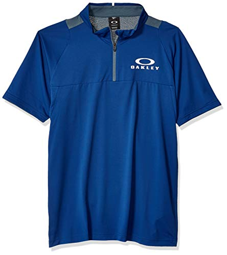 Oakley Mens Herren Enhance SS Mock 9.0 Hemd, dunkelblau, XX-Large