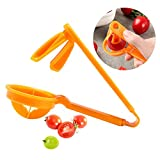 Grape Cutter, Grape Tomatoes Slicer for Kids - Portable Auxiliary Baby Food Fruit Creative Tools