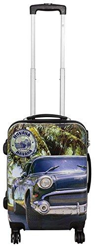 Polycarbonaat ABS harde schaal koffer trolley reiskoffer reistrolley handbagage boardcase beautycase XL L M S, Cuba. (meerkleurig) - unknown