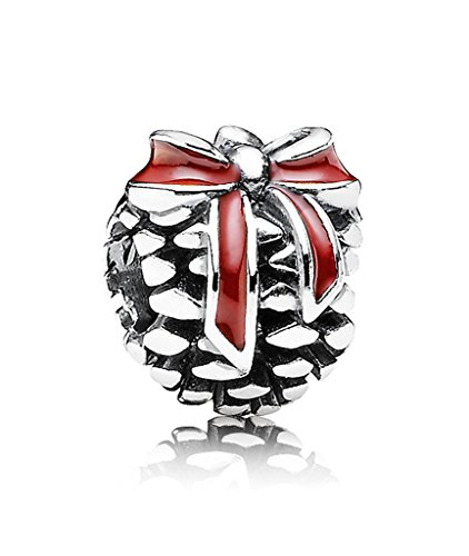 Pandora piñotas Charm en plata de ley 925, 791237EN39