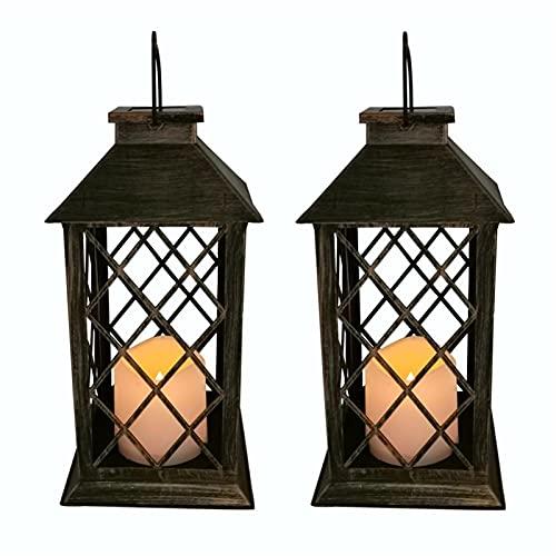 Lampara Exterior Luces solares al aire libre Luces de jardín al aire libre LED Luces de vela Lámparas solares Arañas para el hogar Accesorios de jardín Luces Exterior Solares (Color : B)