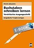 Buchstaben schreiben lernen - VA: Vereinfachte Ausgangsschrift (1. und 2. Klasse) (German Edition)