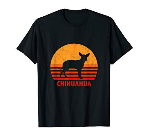 Vintage Chihuahua Retro Chiwawa Hund Damen Geschenk T-Shirt