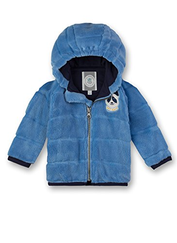 Sanetta Baby-Jungen Outdoorjacket Jacke, Blau (Blue Sea 50206.0), 80