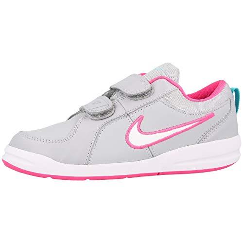 Nike Pico 4 (PSV), Scarpe da Fitness Bambino, Multicolore (Wolf Grey/White/Clearwater/Pink Pow 010), 33.5 EU