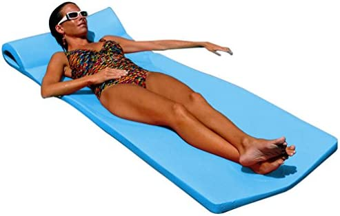 "Texas Recreation Sunsation 1.75"" Thick Swimming Pool Foam Pool Floating Mattress"
