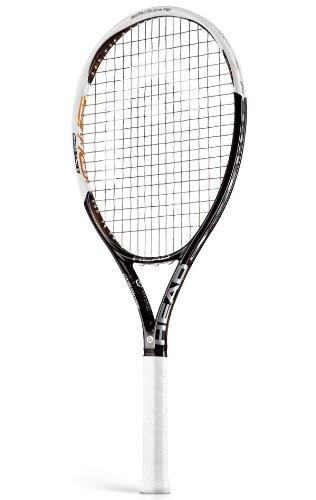 HEAD Tennisschläger Youtek Graphene PWR Speed, schwarz/rot/Silber, L3, 230313