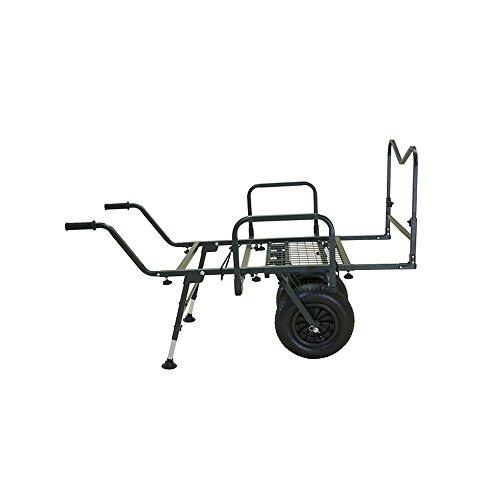 B.Richi Trolley THE GIANT TRUCK Angelkarre höhenverstellbare Auflage Schubkarre belastbar bis 150kg 1,1qm Lagerfläche