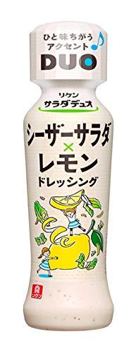 理研ビタミン サラダデュオ シーザーサラダレモンドレッシング 190ml ×6個