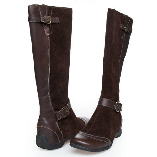 Scholl Islington F23113 1019 Damen Stiefel Schuhe, EU 41, Braun