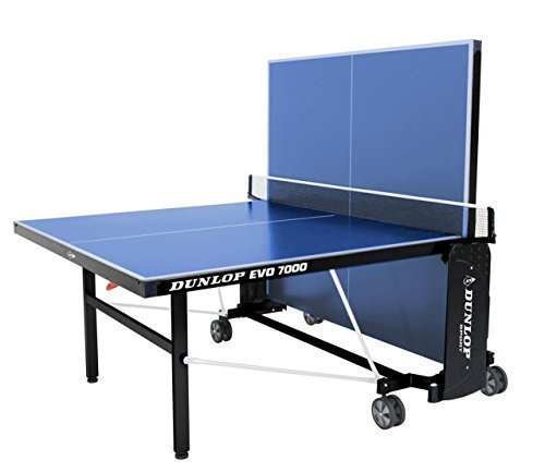 Dunlop Evo 7000Ping Pong Outdoor Play Easy faltbar Weelie Tischtennis Tisch