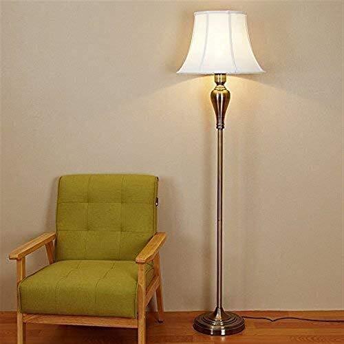 CLJ-LJ Led Wohnzimmer Schlafzimmer Nacht Aisle Kreative Stoff dekorative Stehlampe, Eye-Pflege Vertikal-Fußboden-Licht