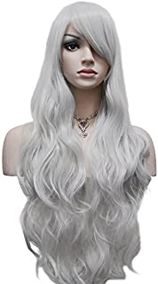 Best long white wig with bangs Reviews
