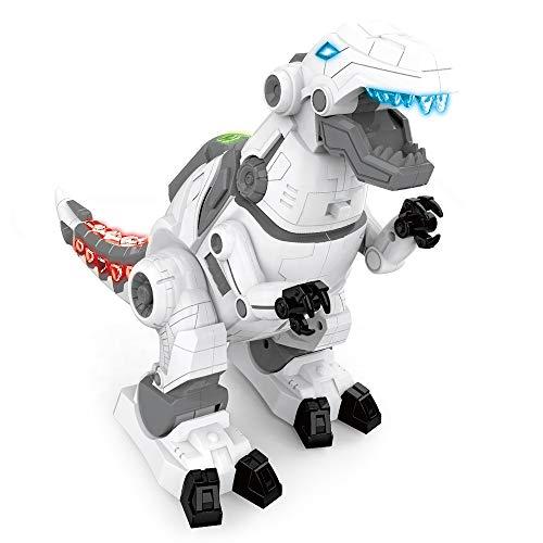 恐竜 ロボット ティラノサウルス T-REX(ティーレックス) 恐竜おもちゃ 電動おもちゃ 電動ロボット 二足歩行 発声発光 ロボットおもちゃ 玩具 キッズ 男の子 女の子 誕生日 子供の日 クリスマス プレゼント