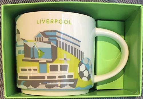 """Starbucks Tasse mit Aufschrift \""""You are Here\"""", Liverpool"""