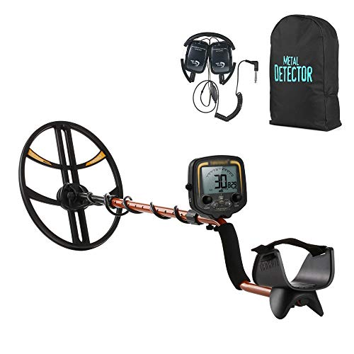 Lowest Prices! Metal detector Underground Gold Detector Gold Digger Treasure Hunter Metal with Electronic Pinpoint LCD Display and Headphone