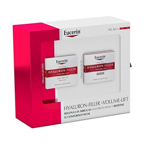 Eucerin hyaluron filler volume lift crema piel seca 50ml +crema de noche