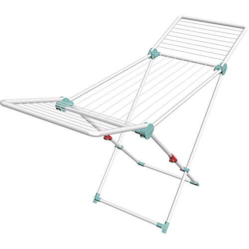 decorwelt Artweger Wäscheständer Klappbar 117 cm Standtrockner Mint Wäschetrockner Flügel