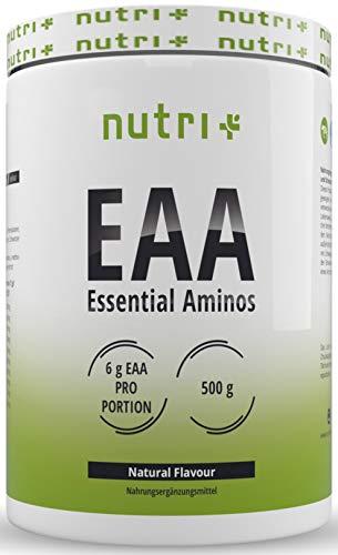 Aminozuurpoeder Vegan 500g EAA - HIGHEST DOSE - alle essentiële aminozuren - Onmiddellijke EAA's poeder - Essentiële aminozuren