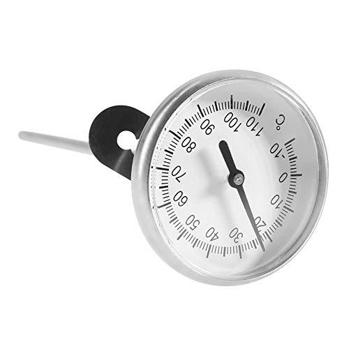 Liineparalle RVS Melk Thermometer Van -10~110°C Koffie Frothing Accessoires die gemakkelijk te reinigen is