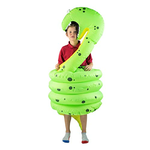 Bodysocks® Aufblasbares Schlange Kostüm für Kinder