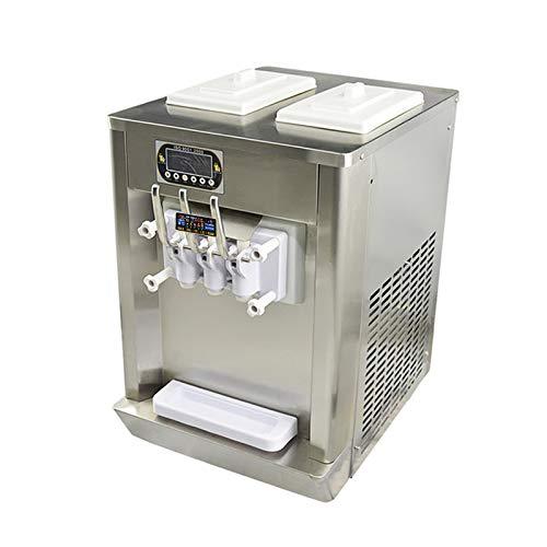 Kolice CE ROHS kostenloser Versand 2 + 1 gemischte Geschmacksrichtungen, weiches Serviereismaschine mit kompletter Kältemittel,Embraco Kompressor,Arbeitsplatte Design