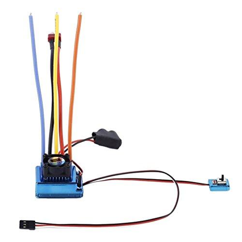 Gazechimp Sensored Brushless 120A ESC Controlador...