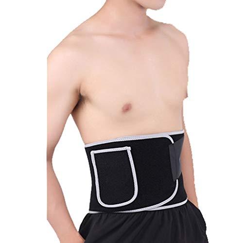SYN-GUGAI Soporte Lumbar/cinturón de Apoyo para la Parte Inferior de la Espalda, cinturón de Fitness, Material para Absorber el Calor y Sudar, protección de la Cintura, sudoración rápida, dispo