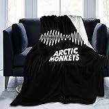 Arctic Monkeys Soft and Warm Throw Blanket Digital Printed Ultra-Soft Micro Fleece Blanket 50'x40'
