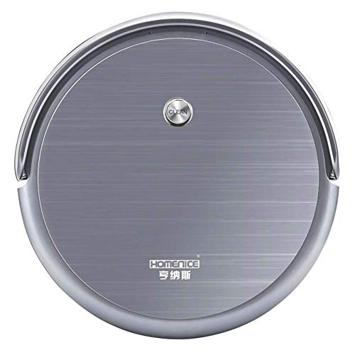 Fantastic Deal! Jsmhh Ultra-Thin Robot Vacuum Cleaner-High Suction with Brushless Motor, 1800Pa Suct...