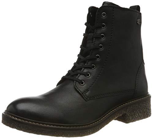 camel active Damen Palm 71 Combat Boots, Schwarz (Black 4), 37 EU