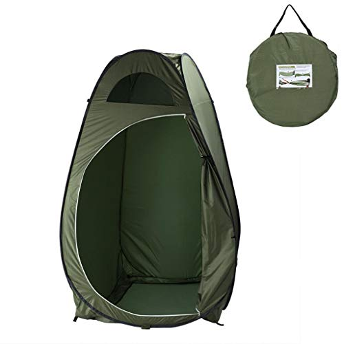 KEO Pop-up Shower Tent, Changing Room Privacy Tent, Instant Portable Outdoor Shower Tent, Camp Toilet, Rain Shelter for Camping & Beach, Extra Tall, Spacious, for Outdoors Beach Camping Travelling