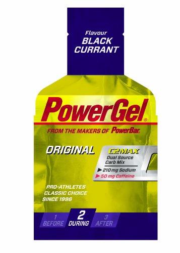 Powerbar PowerGel Schwarze Johannisbeere + Koffein, 3er Pack (3 x 41 g)