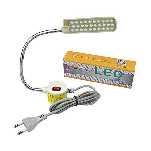 Bonlux 30 LED Bombilla Luz Fría Para Máquina de Coser de