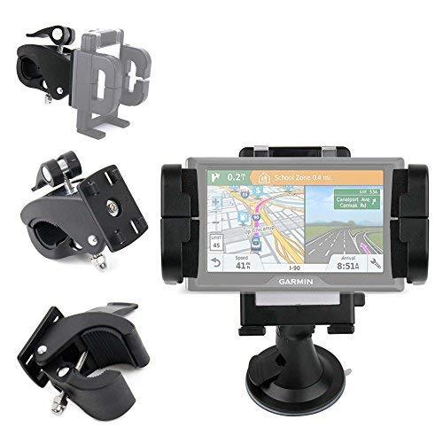DURAGADGET Supporto Regolabile Auto E Bici per navigatore Garmin Drive 51 / Drive 61 / DriveAssist 50 / DriveAssist 51 /DriveLuxe 50 / DriveLuxe 51 / DriveSmart 51 - Parabrezza/Cruscotto/Griglia