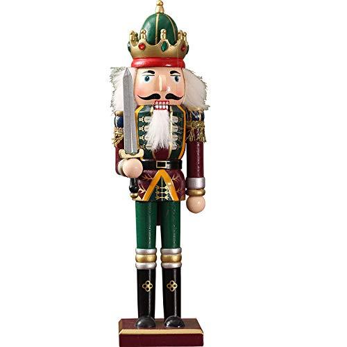 VBNHGF Escultura Figuritas Decorativas Estatuas Muñeco De Madera Soldado Vintage Artesanía Adorno De Marionetas Home Desktp Figurines Manualidades Decoración Regalo