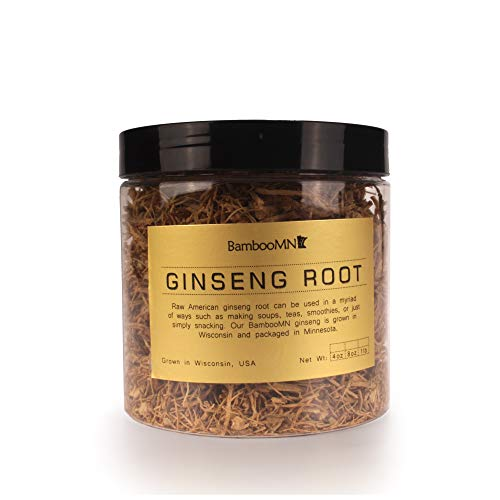 Ginseng Fiber Prong American Grown Cultivated for Soups and Teas - 4...