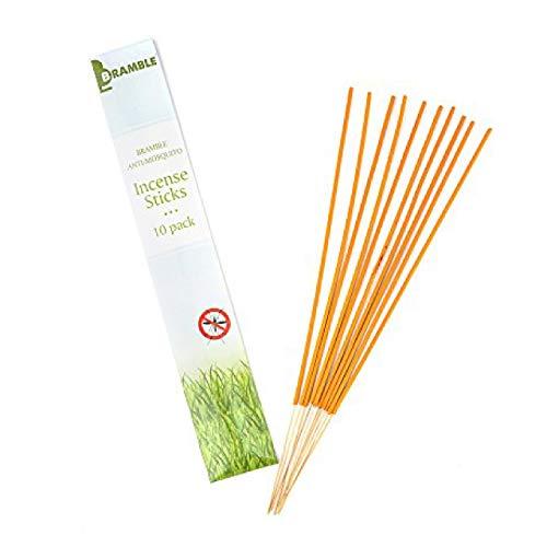 Bramble - 100 Extra Long Citronella Mosquito Repellent Incense Sticks - 33cm