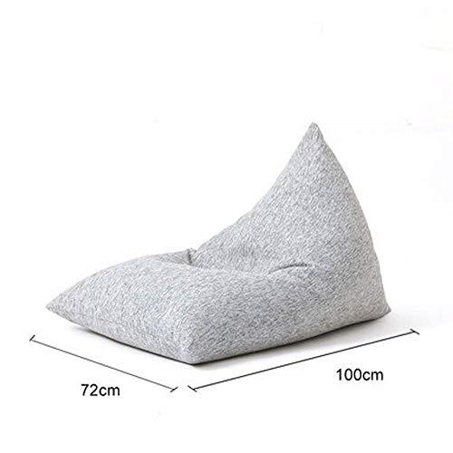 WAJI Bean Sandbag Market Bazaar Bag Tapis de Sol en Tissu tissé imperméable résistant aux Rayures pour intérieur et extérieur, Plastique, Gris, Size 0.00watts