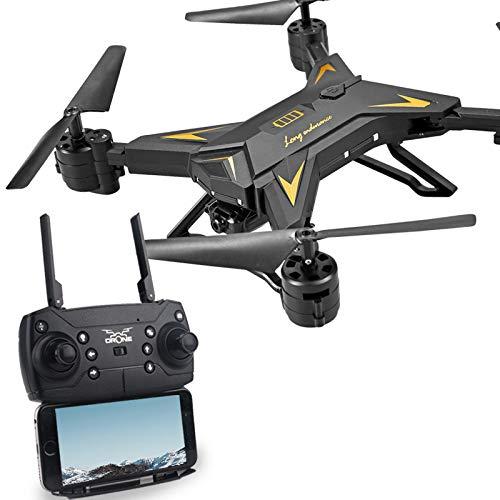 Fernbedienung Smart Drohne WiFi FPV RC mit 1080P 5.0MP Kamera Selfie Drohne 3D Flip Lange Akkulaufzeit für Anfänger und Experten
