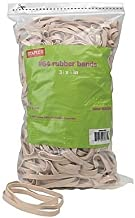 Staples Economy Rubber Bands, Size #64, 1 lb. 3 1/2
