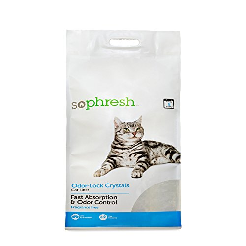 SO PHRESH Odor-Lock Crystal Cat Litter, 30 lbs.