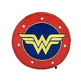 Vue Cojin Peluche Decorativo Suave de Felpa Oficial (Wonder Woman Logo)