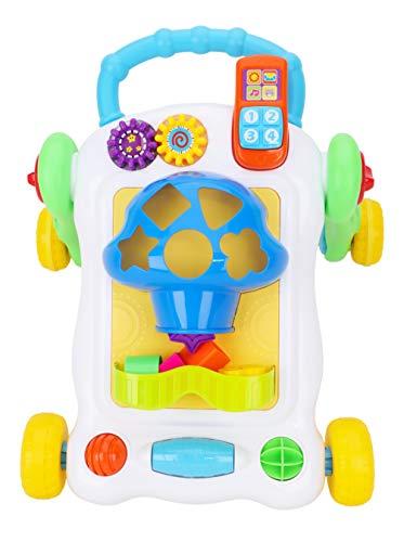 Toyland® Baby & peuter duwende unisex rollator voor vormsorteermachine met snelheidsregeling - leeftijden 12m +