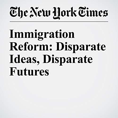 Immigration Reform: Disparate Ideas, Disparate Futures audiobook cover art