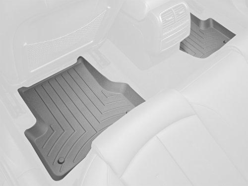 WeatherTech Custom Fit Rear FloorLiner for Select Subaru Impreza/Forester Models (Grey) :