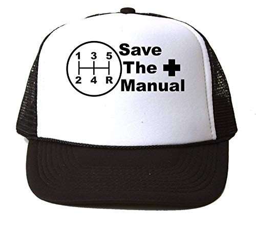 KRISSY Save The Manual Car Cars Gearbox JDM Baseball Cap Unisex Mütze Kappe One Size